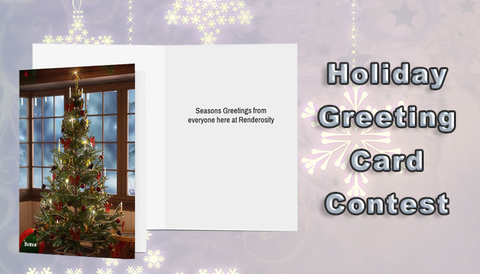 2019 Renderosity Holiday Greeting Card Contest